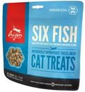 Orijen FD Six fish Cat для кошек. Сублимированное. 6 рыб