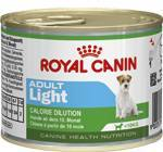 Влажный корм Royal Canin Health Nutrition Adult Light для собак с 10 месяцев до 8 лет, предрасположенных к полноте